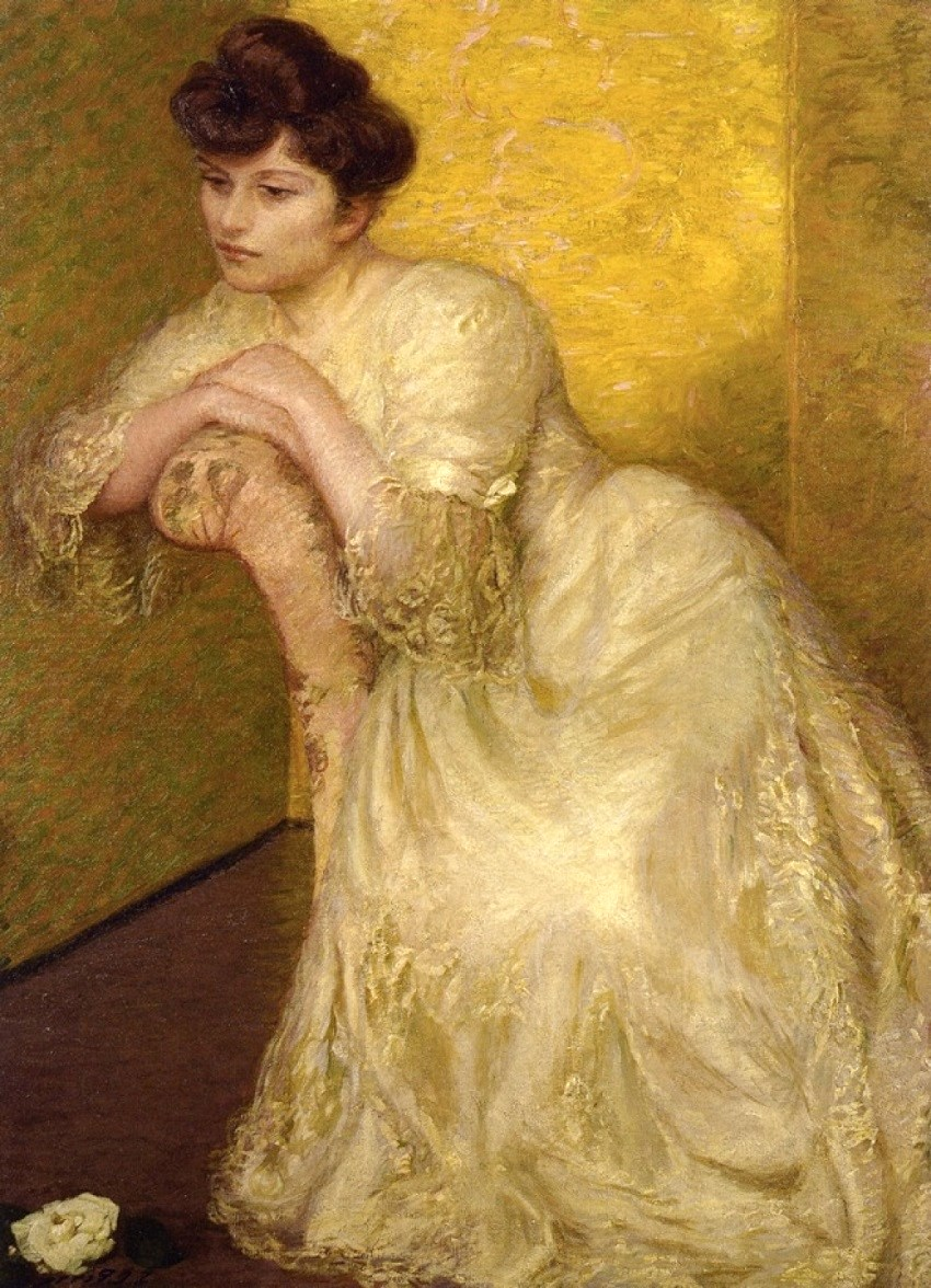 """womans issues and the yellow wallpaper Cate graman 5/28/09 english 111 bleck """"the yellow wallpaper"""" by charlotte perkins gillman deals with the oppression of women during the 19th century."""