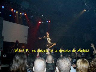 W.A.S.P., Riviera, Madrid,