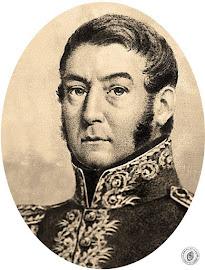 General JOSÉ FRANCISCO DE SAN MARTÍN. (Yapeyú 25/02/1778 - Francia 17/08/1850).