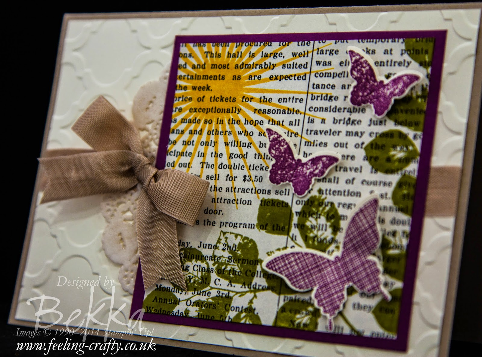 Kinda Eclectic Card for any Occasion - check this blog for lots of great ideas