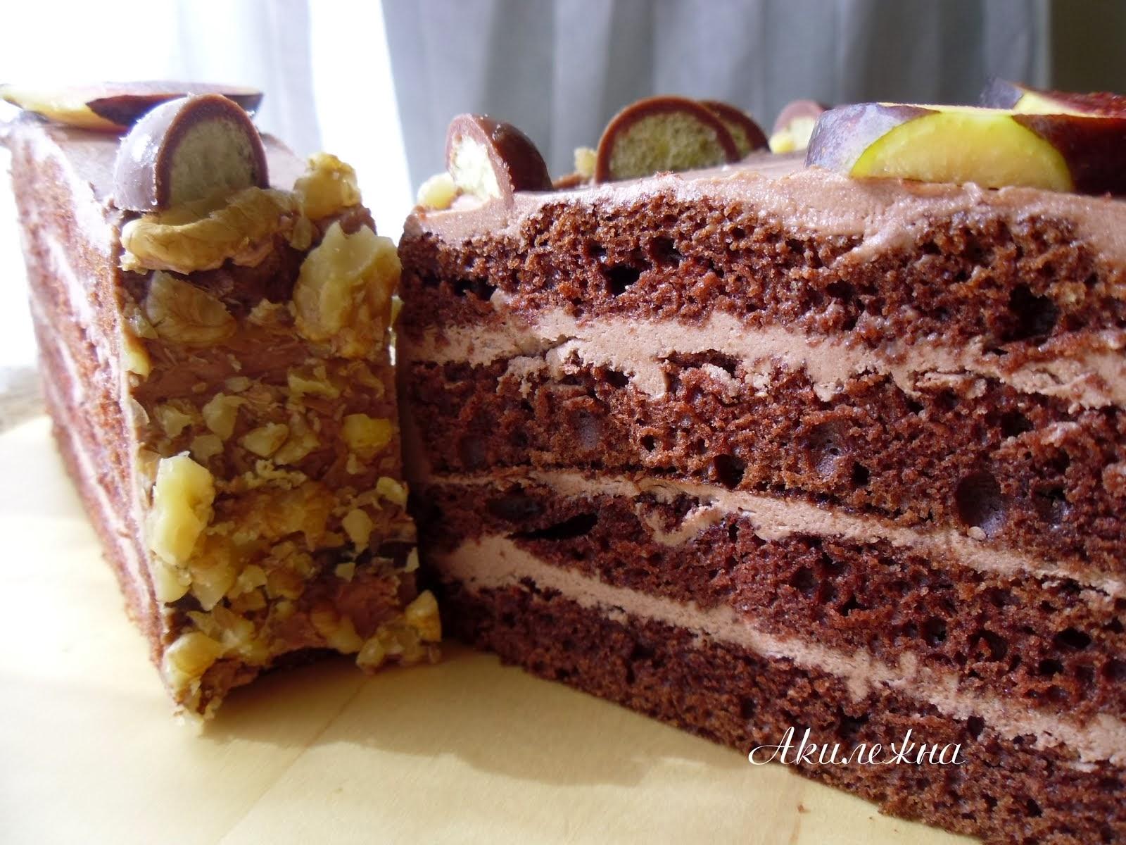 Торт «Шоколадная галерея»