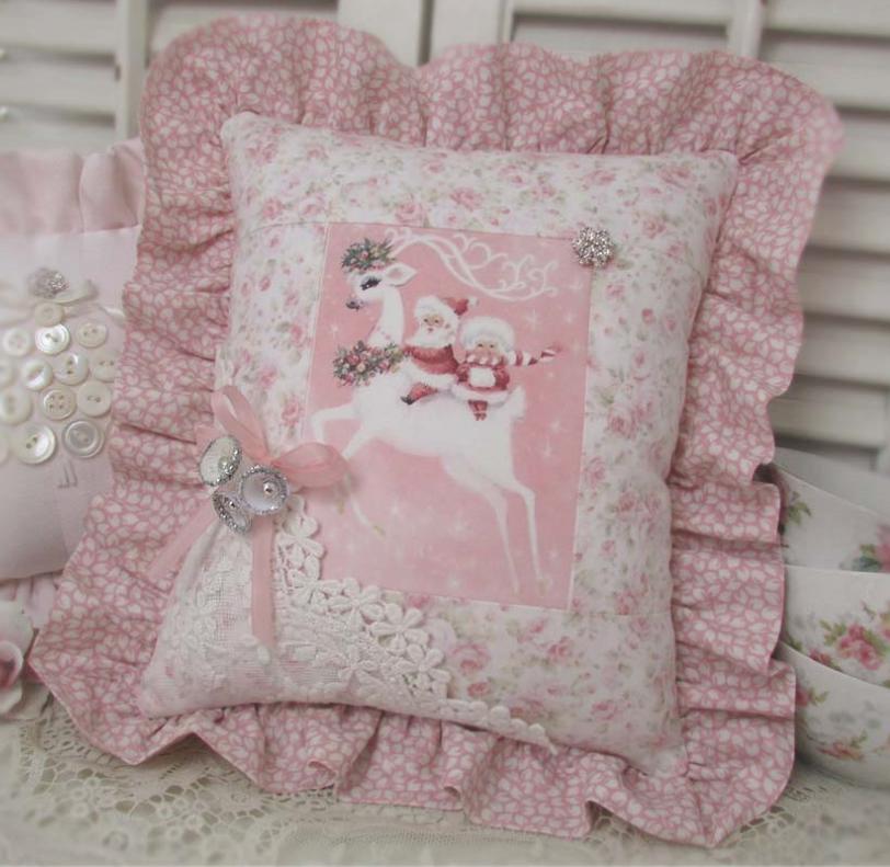 Simpatico cuscino natalizio ^_^