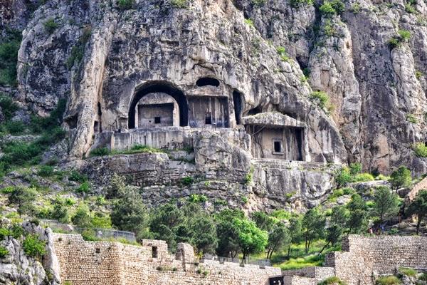 Οι βασιλικοί τάφοι των βράχων στον Πόντο, στη λίστα της UNESCO