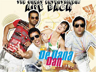 De Dana Dan (released in 2009) - A comedy starring Akshaya Kumar and Suniel Shetty