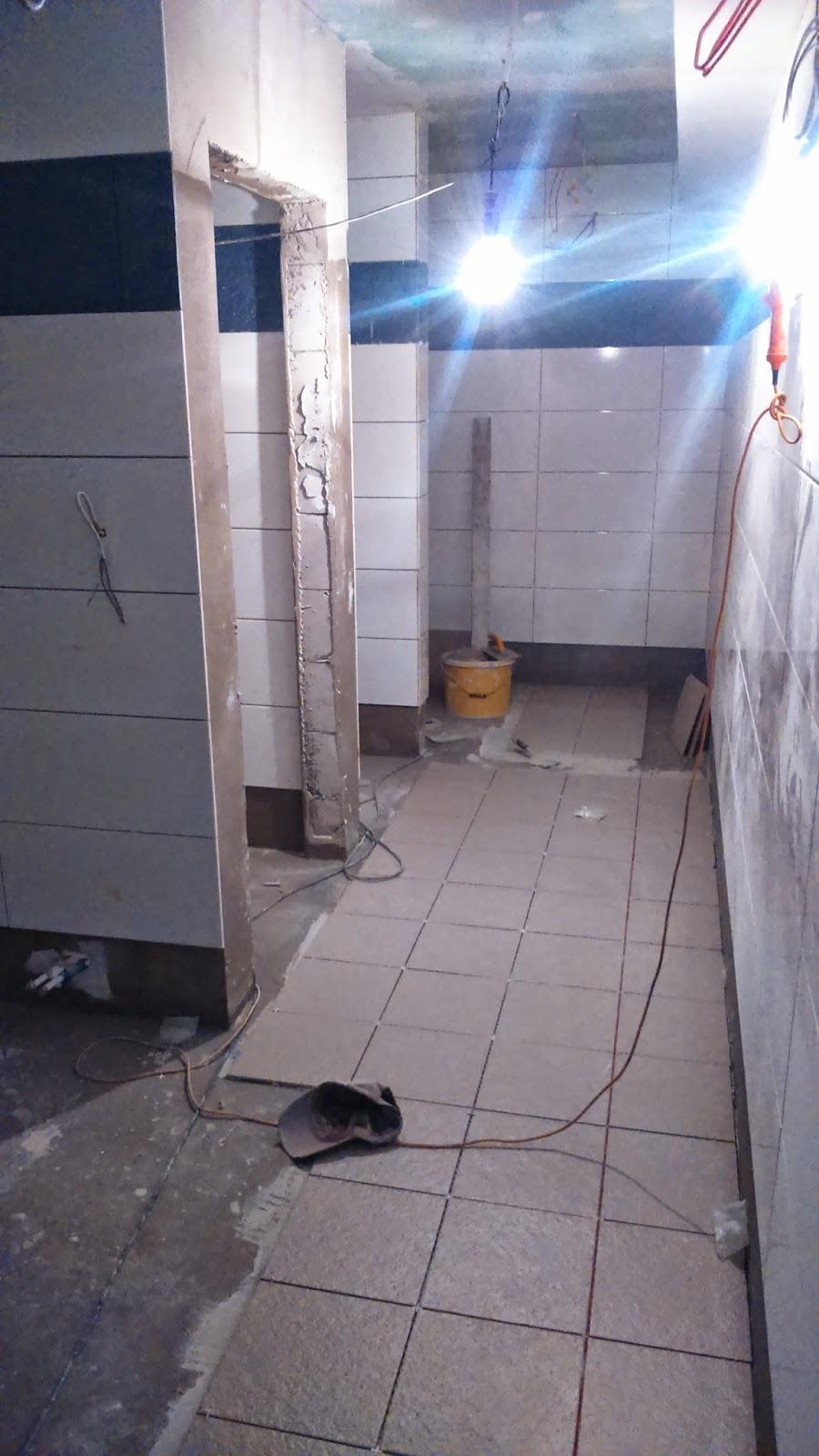 korytarz i kabiny