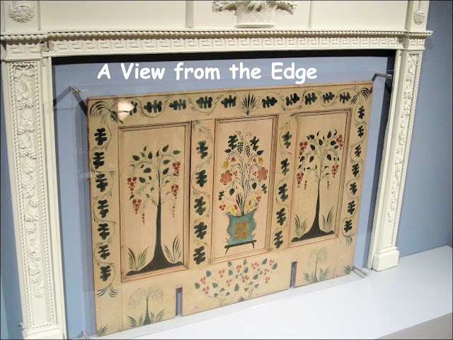 A view from the edge let 39 s get artsy fartsy part deux Decorative fireplace covers