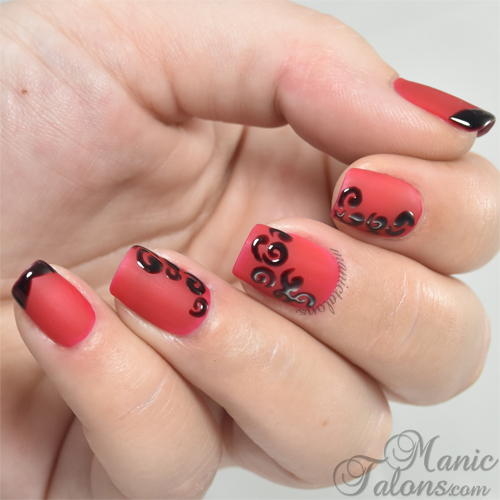 Matte and Gloss Nail Art with BMC Gel Polish