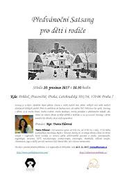 Předvánoční satsang pro děti v Praze