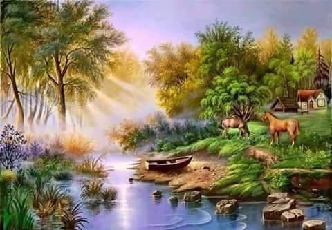 Alam desa dalam khayalan