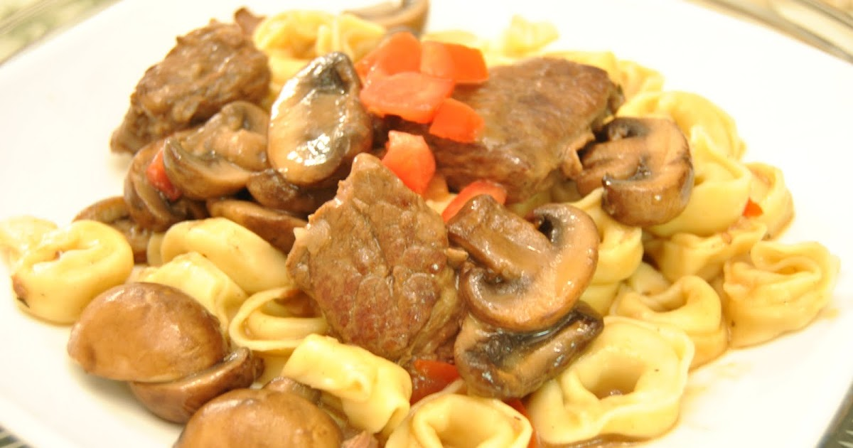 Malikala 39 S Ono Kine Grinds Beef Short Ribs With Tortellini Marsala Cream Sauce
