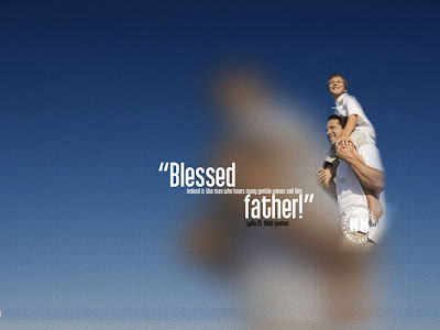 father's day powerpoint background 4