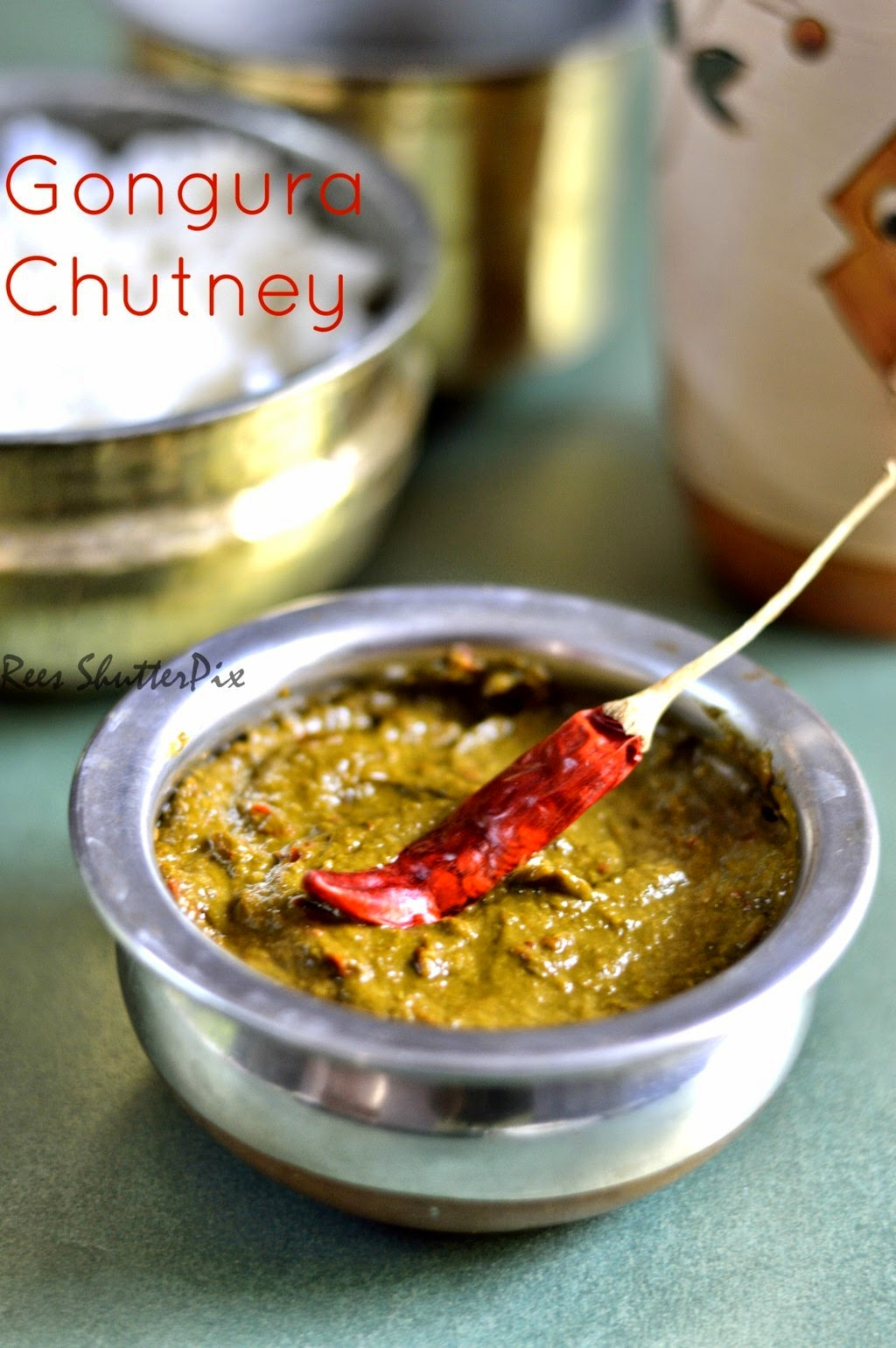 gongura keerai recipe, pulichakeerai recipe, pulichakeerai thuvayal, red sorrel leaves recipes,