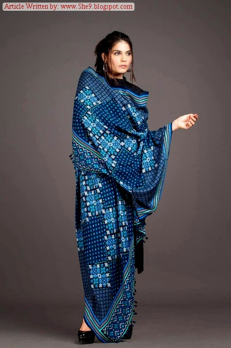 Kayseria Shawl-Fabric-Pret Collection 2014