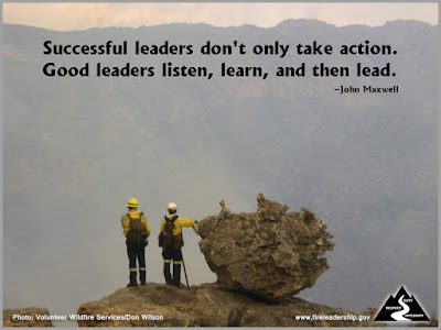 Successful leaders don't only take action. Good leaders listen, learn, and then lead. –John Maxwell