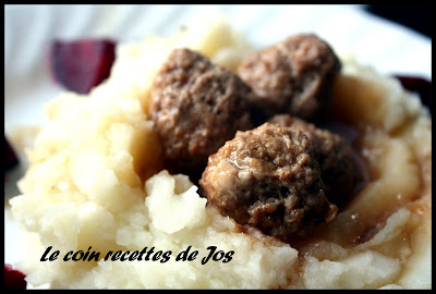 recettes  BOULETTES DE VEAU  LA RICOTTA
