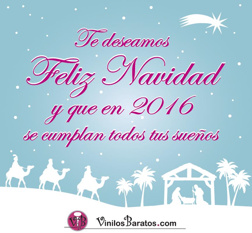 Vinilos baratos feliz navidad 2015 for Vinilos baratos online