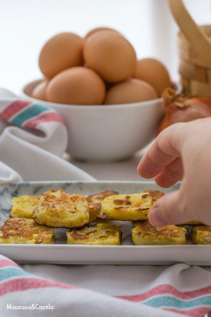 Bocaditos de tortilla de patata
