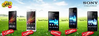 Daftar Harga Handphone April 2013 di OkeShop