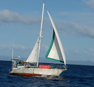 Wunderschönes Segeln von Rabi nach Also Island