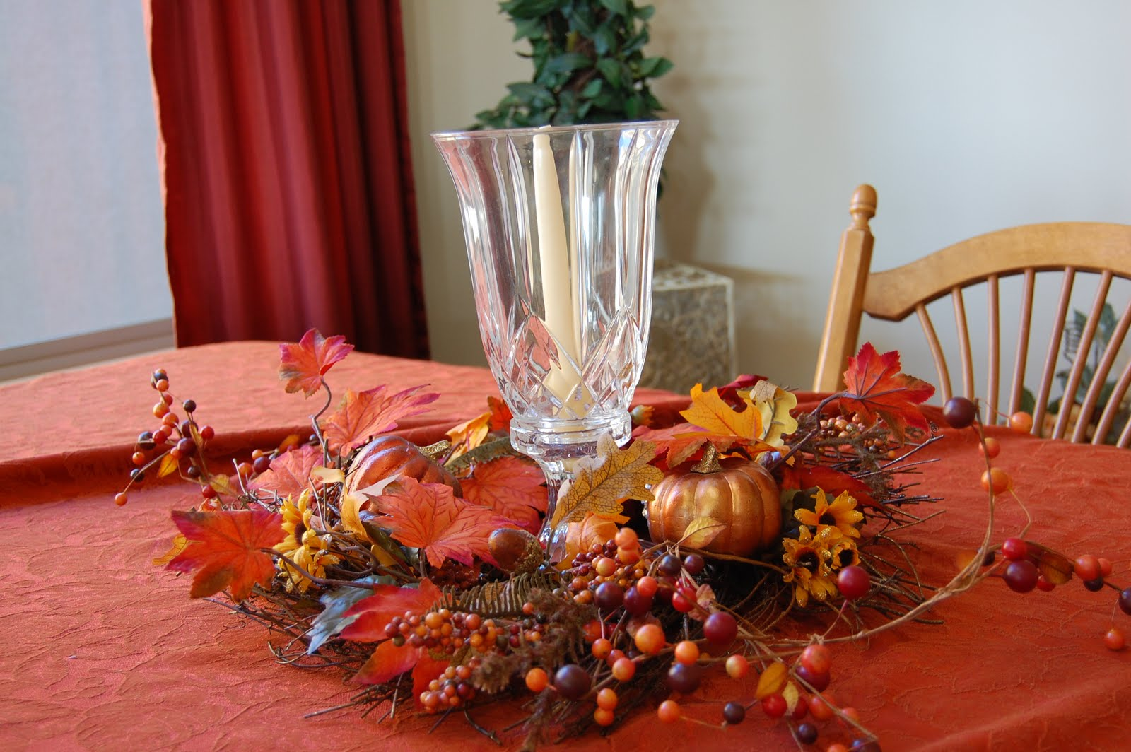 Party Dime Time Fall Table Decor
