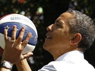 Barack Obama n'est pas un bon basketteur