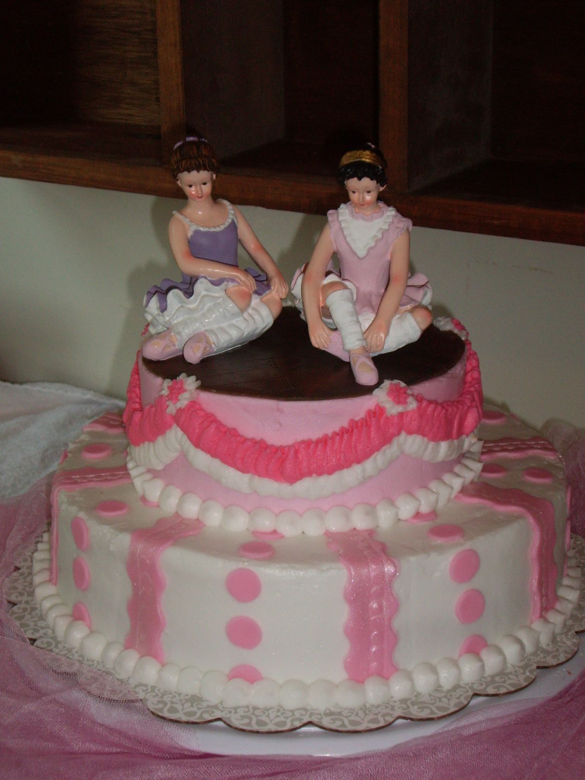 Custom Cakes by Christy Ballerina Birthday Cake