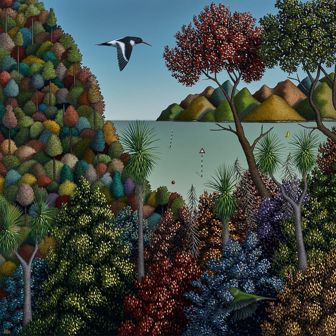 Hamish Allan Drift zone and the pleasure garden