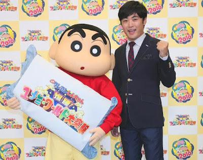 Film Layar Lebar 'Crayon Shin-Chan' 2016 Ungkap Judul Film Dan Juga Staff