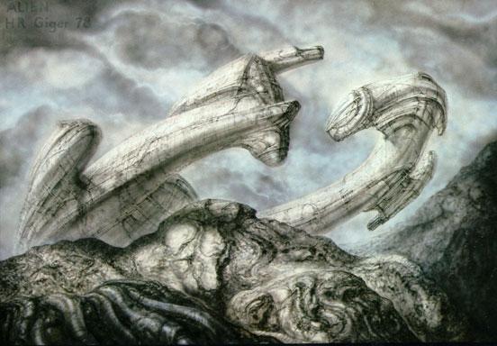 Image result for alien derelict giger