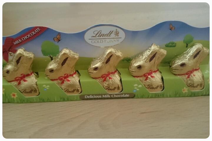 mini lindt gold bunnies