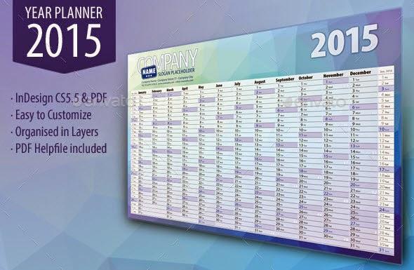 Year Planner 2015