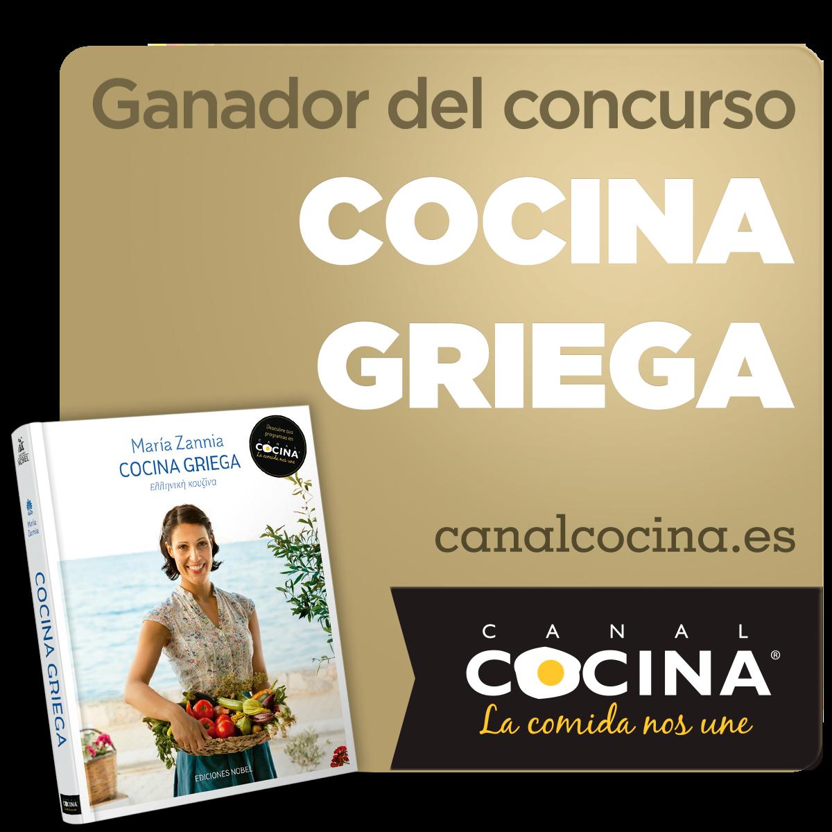 Ganadora del concurso de Canal Cocina