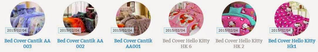 Jual Bad Cover Selimut Sprei Cantik