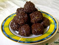 resep cara buat kue kering bola bola coklat