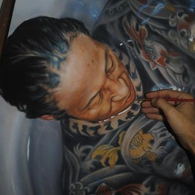 Gustavo Seniman Yang Membuat Lukisan Tampak Nyata 9