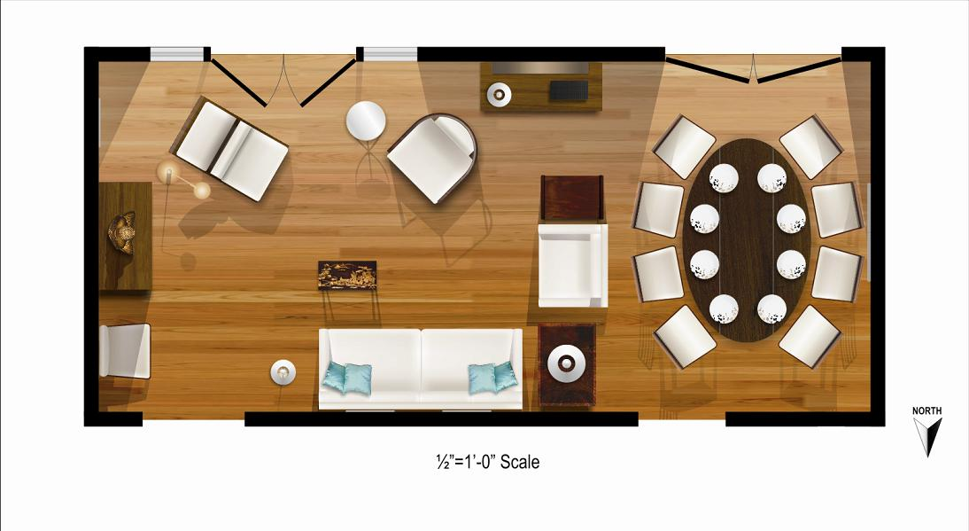 Foundation dezin decor living room plan layout and tips for Living room dining room layout
