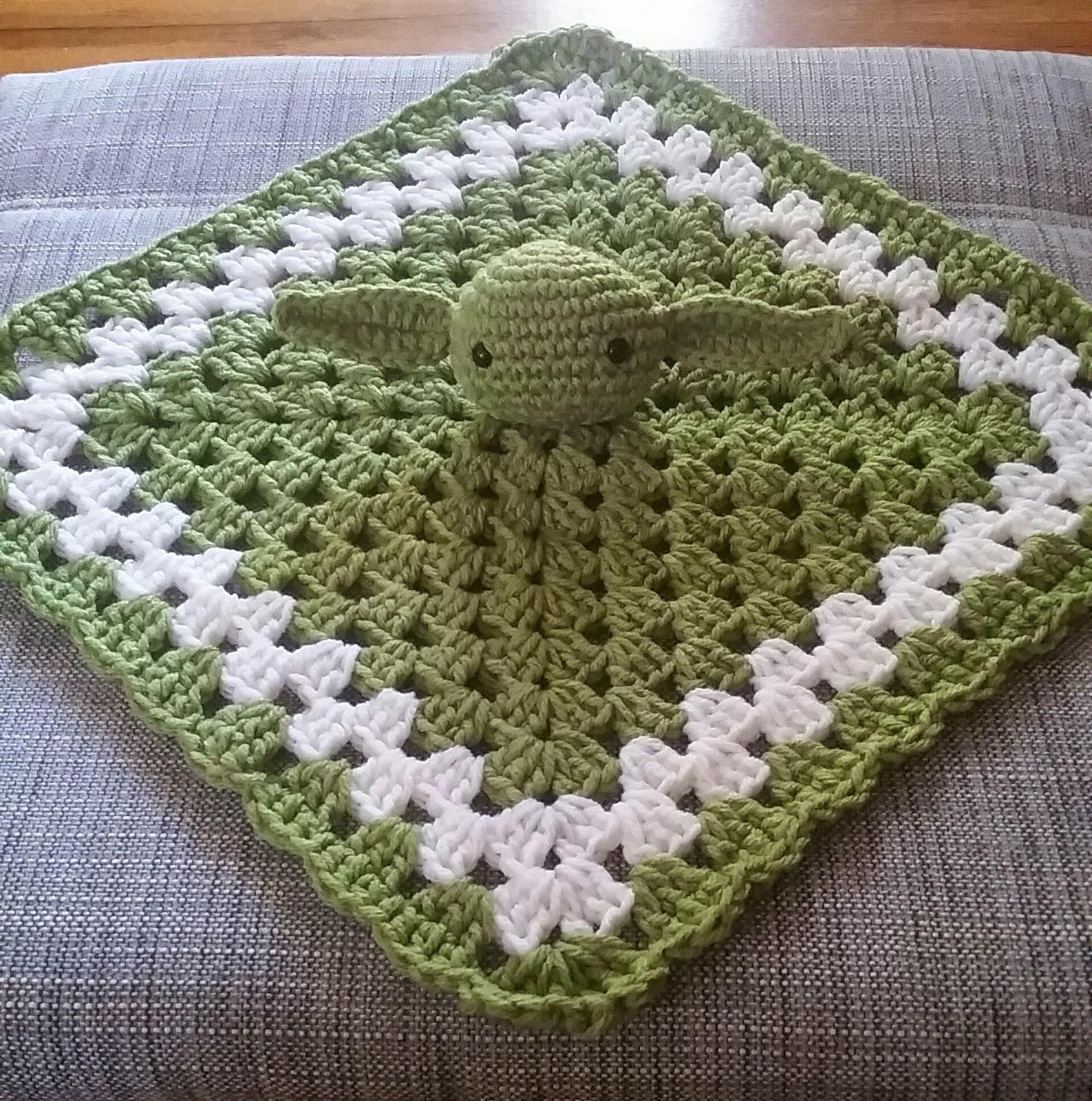 Crochet Lovey : Kristens Crochet: Yoda Inspired Lovey