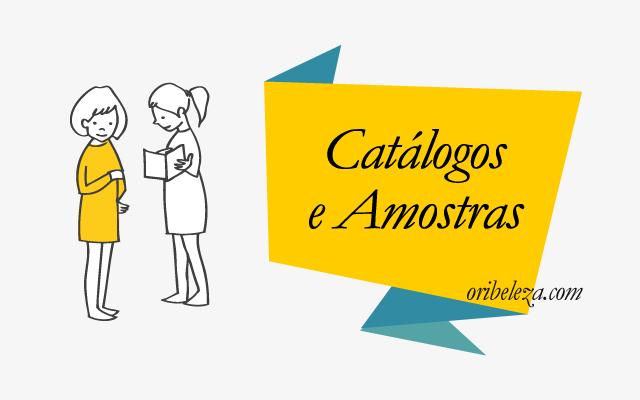 Catálogos e Amostras