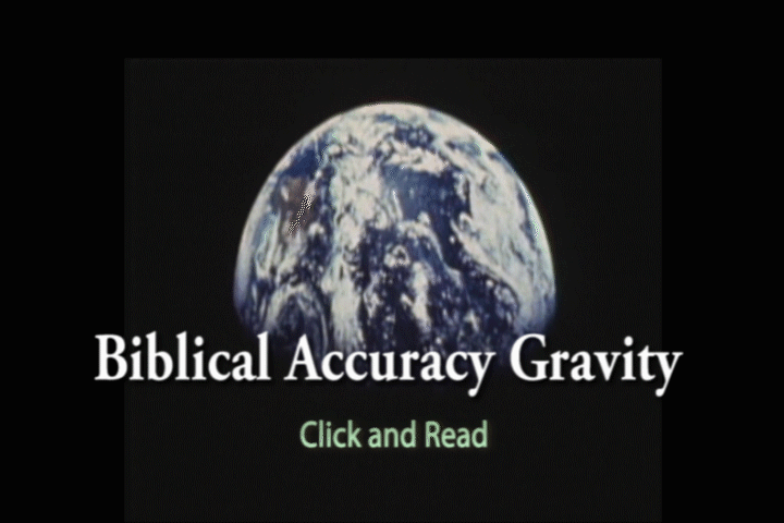 Biblical Accuracy Gravity. By Simon Brown.