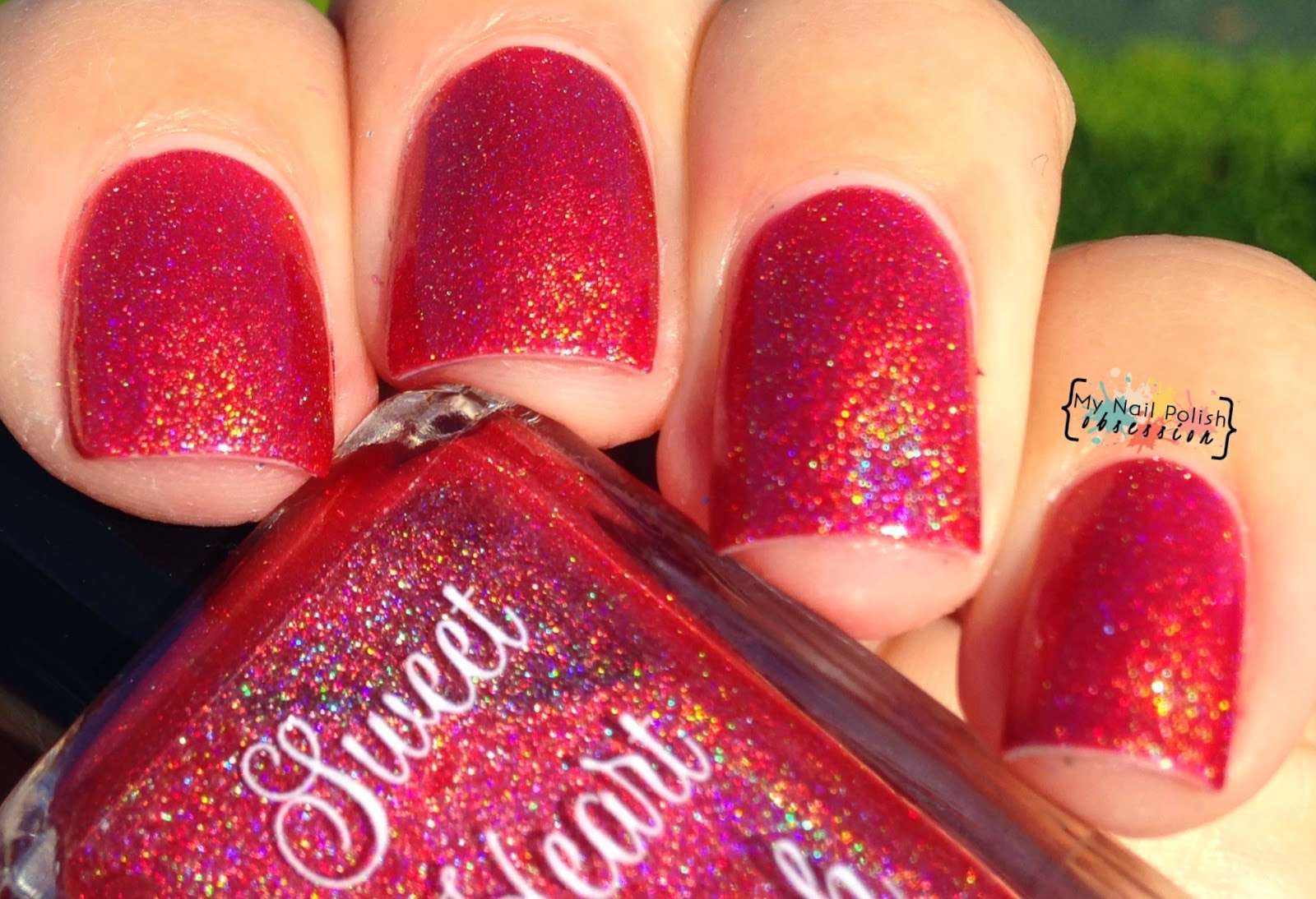 Sweet Heart Polish Red Suit