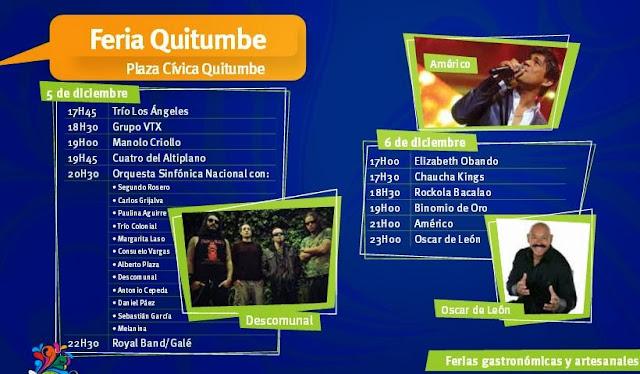 Eventos Feria Quitumbre Fiestas de Quito