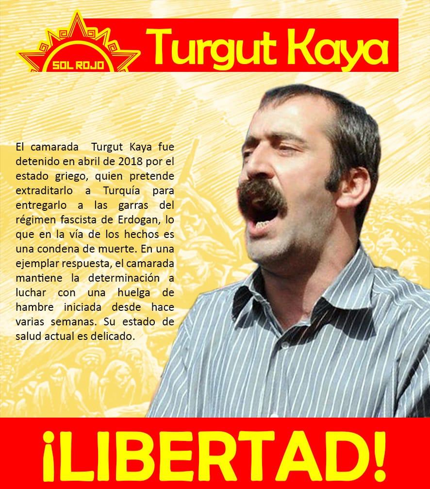¡Libertad a Turgut Kaya!