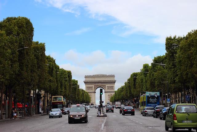 Champs-Elysée e Arco di TrIONFO