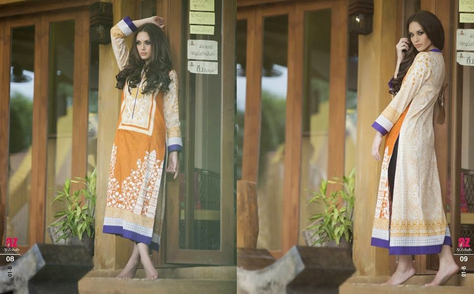 Latest Kurti Dresses 2015 by Al-Zohaib