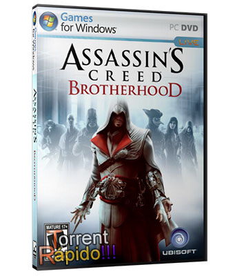 Download Capa 3D Assassins Creed: Brotherhood PC