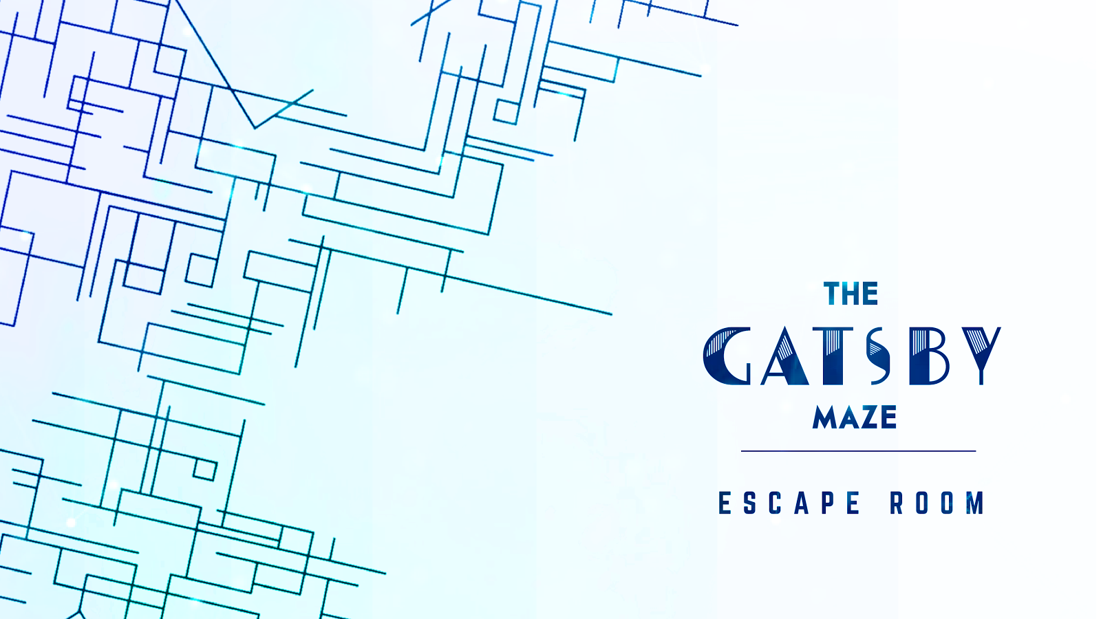 The Gatsby Maze Escape Room