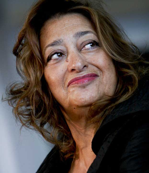 Biographi of Zaha Hadid Biographie Biografia