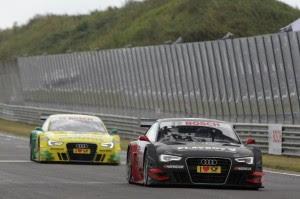 DTM 2012 Zandvoort : Audi signe un triplé
