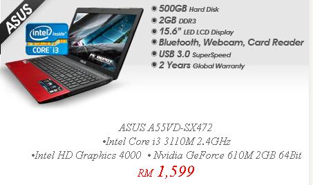Asus Harga Malaysia Harga Malaysia Laptop Asus