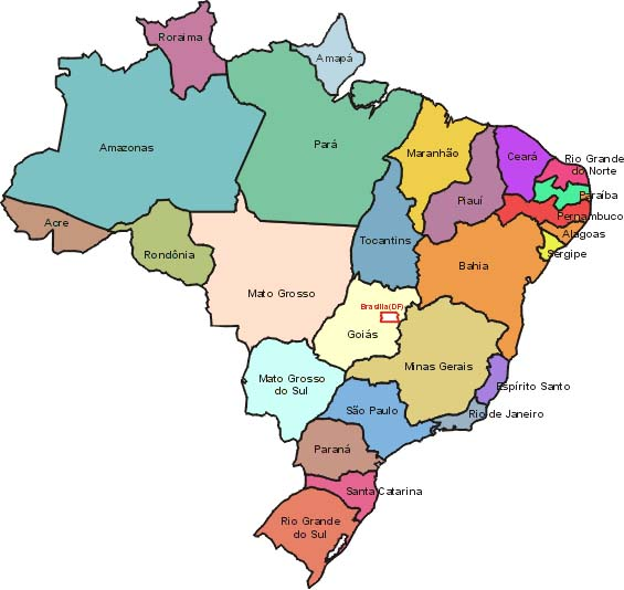 Harta e Brazilit
